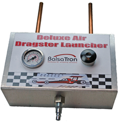 Deluxe Air Powered Dragster Launcher