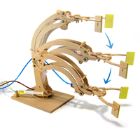Wooden Robotic Arm